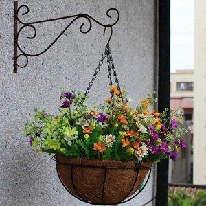 베란다 옥상 텃밭 화분걸이 후크 식물 장식 행잉 홀더
