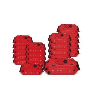 물티슈 벅스레드 캡 72매 10팩 + 휴대 10팩