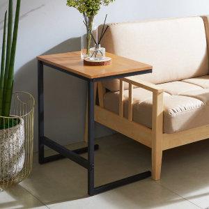 바이브 원목 사이드테이블 600 소파테이블 침대테이블