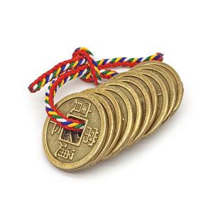 돌잡이 용품 동전 엽전 꾸러미 (10개 묶음) 상평통보