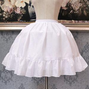 볼륨감 있는 미니 드레스 패치 패티코트 C-미니-01