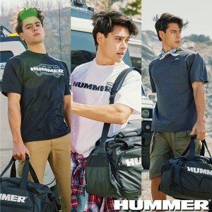 HUMMER 시그니처 티셔츠3종+보스톤백(남)