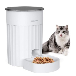 이고웰 고양이 강아지 자동급식기 화이트