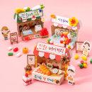 민화샵 민화콘 우리동네 빵 과일 꽃 가게 만들기 세트
