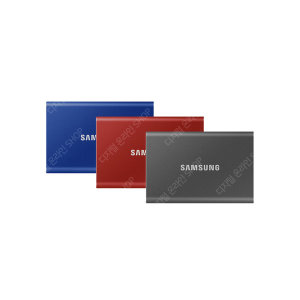 90)삼성 포터블외장SSD T7 2TB-타이탄그레이-신형New