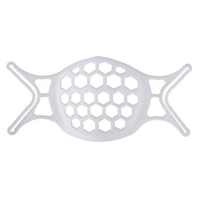 숨쉬기 편한 실리콘형 마스크 가드 남녀공용//화이트
