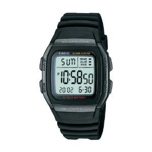 카시오정품 W-96H-1B 스포츠 전자손목시계 남성여성