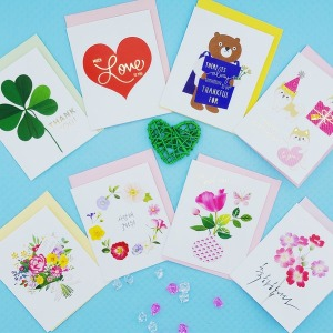 생일 기념일 감사 미니 입체 축하카드 편지 엽서 모음