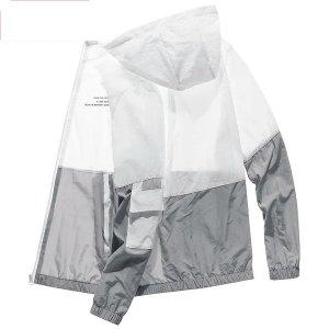 얇은 여름바람막이 에어컨 점퍼 남여 아노락 후드자켓