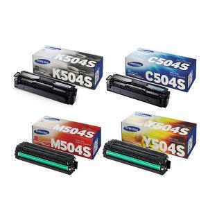 정품 CLT-K504S+C504S+M504S+Y504S 4색세트 SL-C1404W