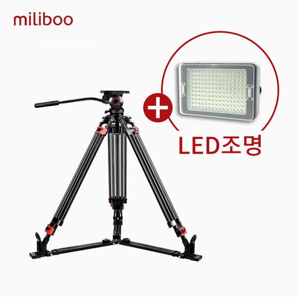 밀리부 MTT609A 카메라삼각대 방송용삼각대 삼각대