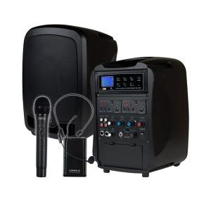 충전식앰프 AT260BN/HB/150W/충전식/휴대용/포터블엠프