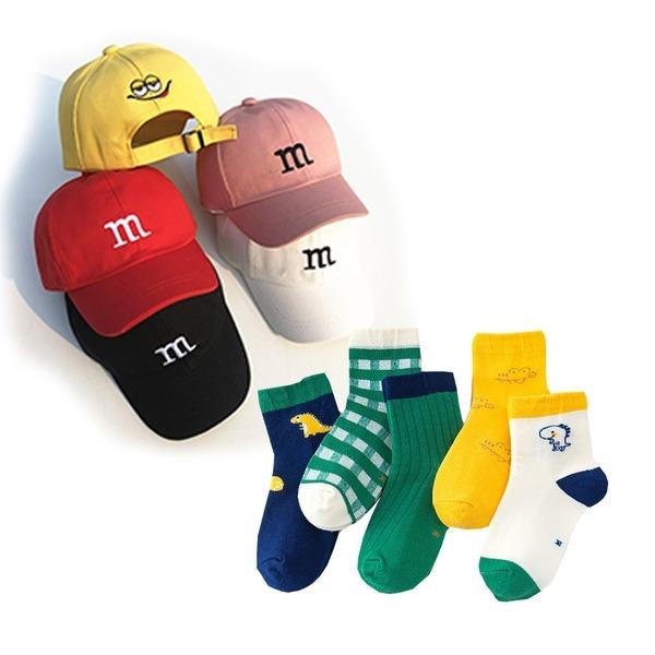 유아동 봄 여름신상 모자 양말세트 모음