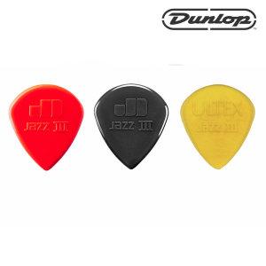 Dunlop 나일론 재즈3  통기타피크 일렉기타피크