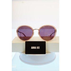 (여주점) ANNA SUI  안나수이  오버사이즈  뿔테 선글라스 AS1142 219 누드-핑크 테/브라운 그라데이션 ...