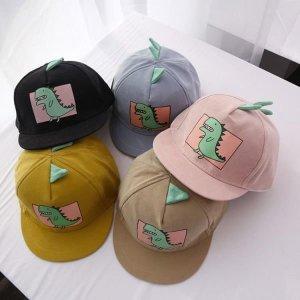 아동 유아 다이노 캡 모자 야구모자 모자
