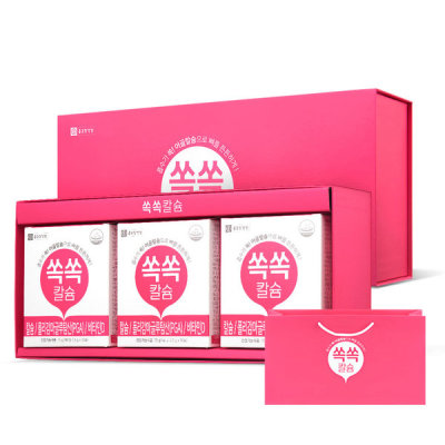 [종근당건강] 쏙쏙칼슘 선물세트(+전용쇼핑백)