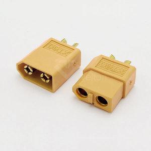 XT60 커넥터 수컷 DC잭 드론 RC카 배터리