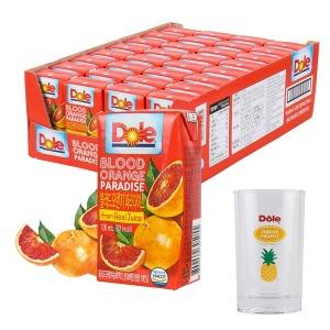 Dole 블러드 오렌지 파라다이스 과즙주스 120ml 32팩