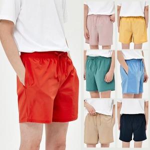 쿨 링 여름 스판 밴딩 팬츠 남자 반바지 에센셜 쇼츠