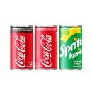 코카콜라제로+코카콜라+스프라이트 190ml 각 30캔
