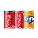 코카콜라제로+코카콜라+환타오렌지 190ml 각 30캔