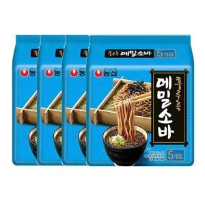 메밀소바 127g 5개입 4봉 총20봉