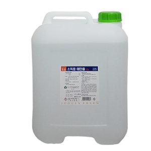 소독용에탄올 18리터 83프로 알콜 소독약 MSDS자료