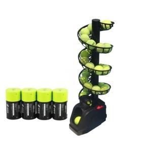 테니스 연습기 볼 머신기 - 포구기+추가레일+충전용