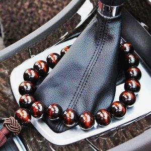 기어봉 차량용 염주 나무 단주 차걸이 액운 불교용품