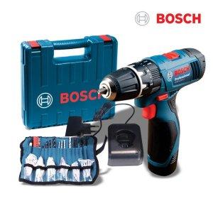 보쉬10.8V 해머드릴 GSB1080-2 LI+액세서리100pcs포함