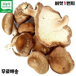 버섯1번지 장흥 무농약 못난이 표고버섯 2kg 실속형