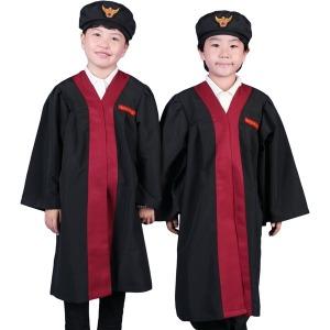 아동판사복 법복 검사 역할놀이 의상 직업체험 CW25