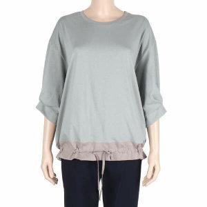 (현대백화점) Pick  레노마레이디 CY38TS040 밑단 스트링 7부 티셔츠