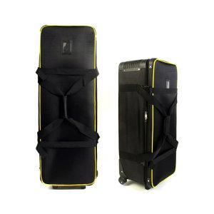 85cm 조명가방 조명헤드+스탠드 수납 이동형 롤러백