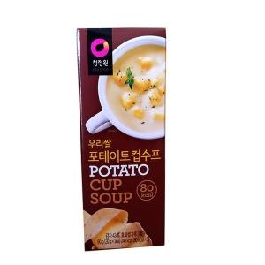 수프 우리쌀 포테이토 컵수프 60gx6입