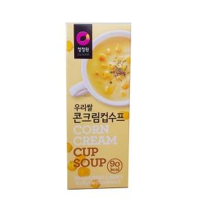 수프 우리쌀 콘크림 컵수프 60gx6입