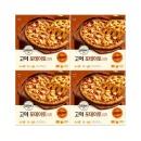 고메 클래식 포테이토 피자 400g (냉동) 4개