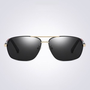 남자 빅 보잉 편광 선글라스 썬글라스 여름 골드블랙