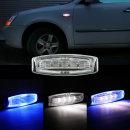 제논사이드 LED시그널램프 ZN8010 청+백/차폭등/미등