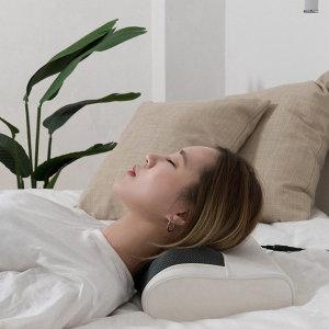 누워서 쓰는 홈케어 안마 베개