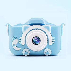 넥스 X5S 고양이발 카메라 2000만 블루 어린이선물