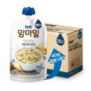 맘마밀 안심밥상 전복모듬채소 140g 10팩/B