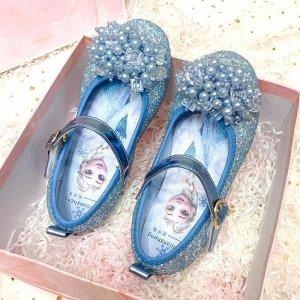 유아 아동 여아 초등 겨울왕국 엘사 공주 구두 신발