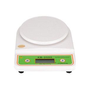 경인산업 디지털주방저울 KB2000 염색약저울 계량저울