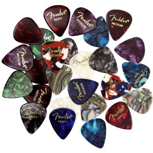Fender 펜더 프레미엄 피크 샘플러 24개