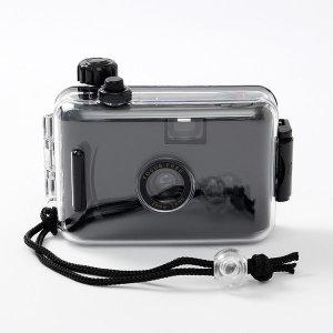 뉴트로 방수 토이카메라(블랙) 수중카메라