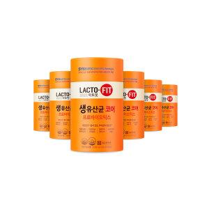종근당건강 락토핏 생유산균 코어 6통 (12개월분)