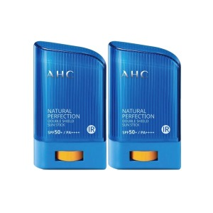 AHC 내추럴 퍼펙션 더블 쉴드 선스틱 22g (신형) x2