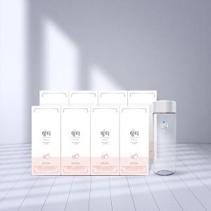 링티 8박스(80포) 복숭아맛+원형보틀